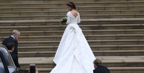 Princess Eugenie's Wedding Gown Was Everything I Hoped It Would Be