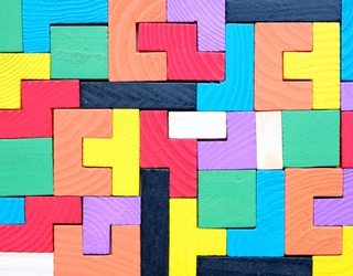 Building Blocks Are the Key To Success, Can You Put Together This Puzzle?