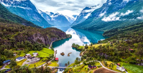 """Travel Tuesday: Live Like Elsa and Anna by Visiting These 5 Places That Inspired """"Frozen"""""""