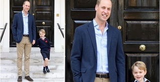 This Might Be the Cutest Damn Photo of Prince William and Prince George My Eyes Have Ever Seen