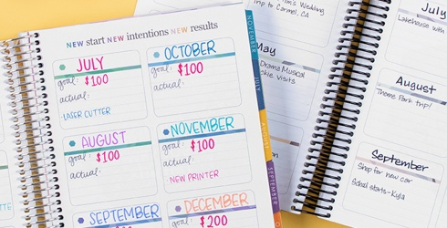 The First Step Toward Crushing 2020? A Brand Spankin' New Planner