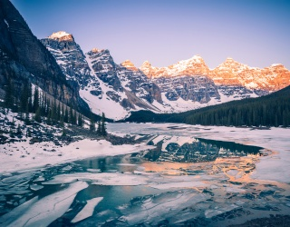 Weekend Wanderlust: Snow, Ice and Everything Nice at the World's Most Wintry National Parks