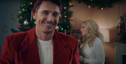 Whether You Love or Loathe Hallmark Christmas Specials, James Franco Is There for You
