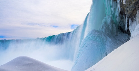 Elsa's Castle or Frozen Niagara Falls? We'll Let You Decide After You Complete the Puzzle