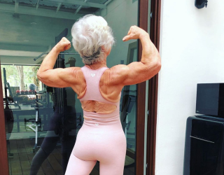 You Can't Help but Marvel at This 74-Year-Old Fitness Influencer
