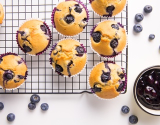 Start Your Day With This Comforting Blueberry Muffin Puzzle