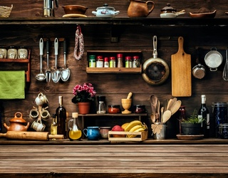 What's Cookin' Good Lookin'? This Rustic Kitchen Needs to Be Put Back Together