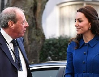 Kate Middleton Wears Your New Favorite Coat For First Royal Engagement of 2017