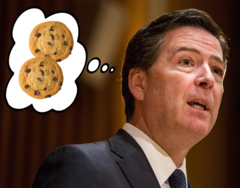 James Comey's 9-Year-Old Neighbor Baked Him Cookies After Trump Fired Him