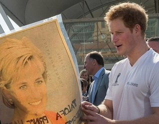 """Prince Harry Recalls Walking Behind Mom Diana's  Cortege: """"I Don't Think Any Child Should Be Asked to Do That"""""""
