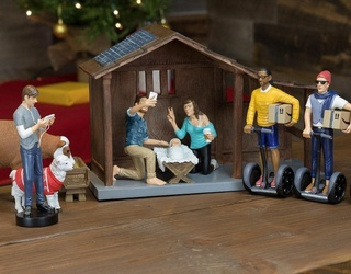 This Church's Hipster Nativity Scene Is Problematic for so Many Reasons