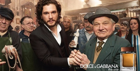 """Kit Harington and Emilia Clarke Star in New Dolce & Gabbana Ad, Suddenly All """"Game of Thrones"""" Fans Smell the Same"""