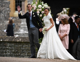 Pippa Middleton Marries James Matthews in Stunning Giles Deacon Gown