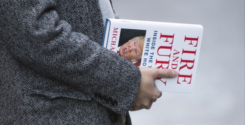 """A Pop-Up Book Version of the New """"Fire and Fury"""" Trump Exposé Exists, to Streamline Your Reading"""