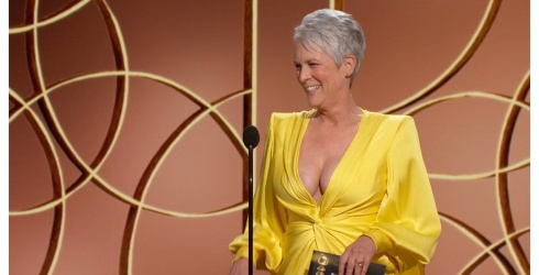 Good Morning to Jamie Lee Curtis and Her Show-Stopping Yellow Dress