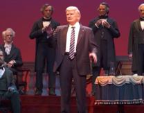 Disney's Animatronic Donald Trump Looks More Like Jon Voight and Lloyd Bridges' Cross-Eyed Love Child