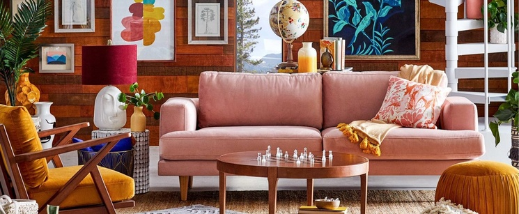 ac982fdd7285a Drew Barrymore s New Home Line Is the Spring Fever of Your Dreams