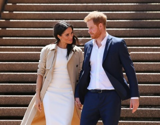 Prince Harry and Meghan Markle Are Officially -- for Real This Time -- No Longer Part of the Royal Family