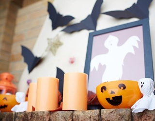Boo! These 12 Halloween-Themed Mantels Are Ready for Spooky Season
