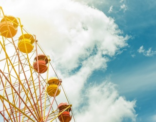 Enjoy Your Ride Around This Ferris Wheel Memory Match