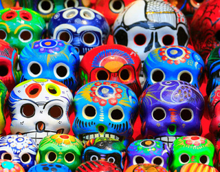 Can You Find the Differences in These Sugar Skull Photos?
