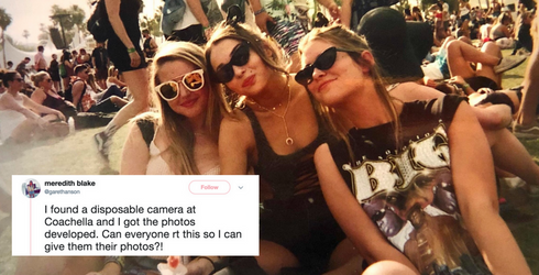 Twitter Helps Girls Find Missing Disposable Camera Because the Internet Is a Magical Place