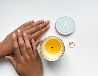 This Candle-and-Skincare-in-One Product Has Our Relaxation Sensors Piqued