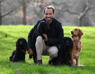 James Middleton Properly Celebrates International Dog Day