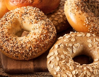 It's National Bagel Day! Can You Unscramble This Bagel Photo?