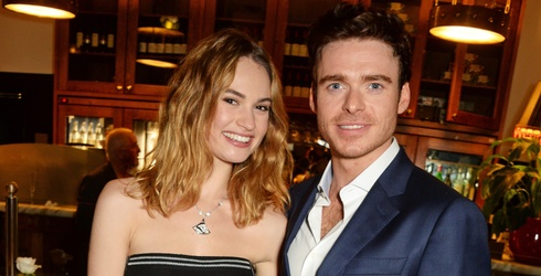 Cinderella and Prince Charming (er, Lily James and Richard Madden) Reunite in Scotland