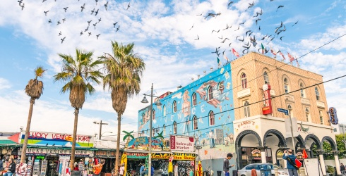 Hang Loose at the Venice Beach Boardwalk in This Puzzle