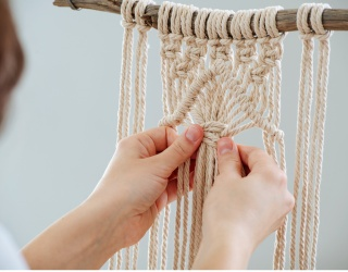 Learn Basic Macrame Knots With This Fun Drag and Drop