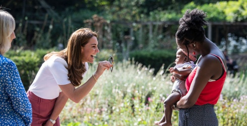 Kate Middleton's Next Great Challenge: Make This Baby Smile