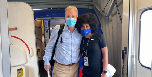 Flight Attendant's Conversation With White CEO Serves as Example of Important Allyship