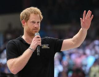 "Prince Harry Addresses Harassment Of ""Girlfriend"" Meghan Markle"