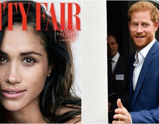 """Loved-Up Meghan Markle FINALLY Talks About Prince Harry to Vanity Fair: """"We're a Couple"""""""