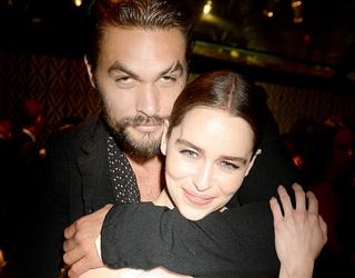 "Emilia Clarke & Jason Momoa Aren't ""Reuniting,"" They're Just Actual BFFs"