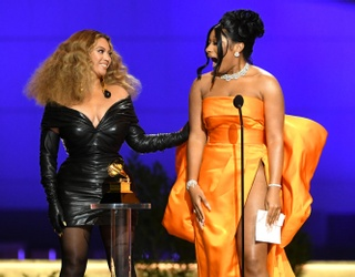 Beyoncé Telling Megan Thee Stallion She's Proud of Her Was the Highlight of the Grammys