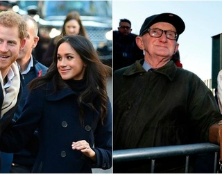 """Prince Harry and Meghan Markle Visit Nottingham, Meet a Local Man and His """"Bird"""" (British Jokes!)"""