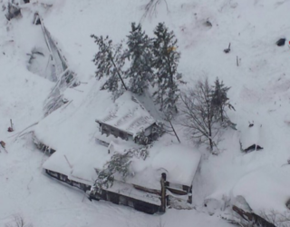 Deadly Avalanche Buries Italian Hotel, Estimated 30 People Trapped Inside