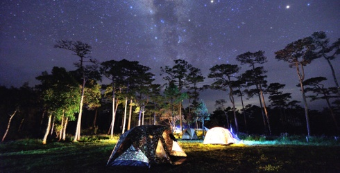 Sleep Under the Stars and Listen to the Crickets With This Camping Puzzle