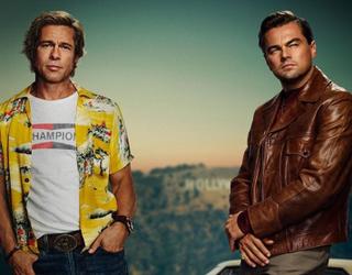 Can You Tell Leonardo DiCaprio & Brad Pitt Apart Despite Their New Movie Poster?