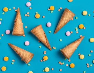 Don't Let Your Brain Freeze Before You Find the Differences in These Ice Cream Cone Photos
