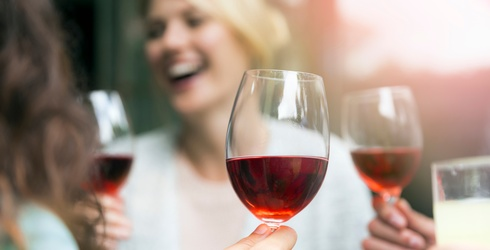 Red Wine Has a New Potential Health Benefit That'll Have You Smiling from Ear to Ear