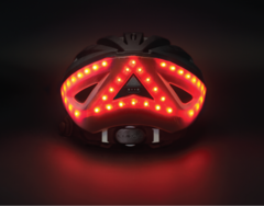 This Bike Helmet's Built-In Lights Are a Godsend for Cyclists and Drivers Alike