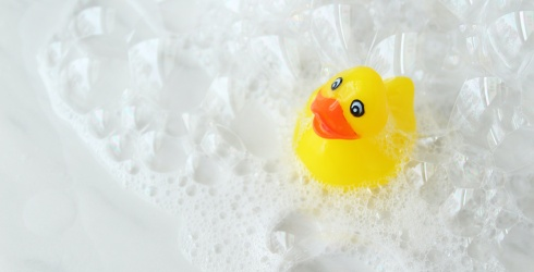 Stay Sudsy by Putting This Bubble Bath Puzzle Together