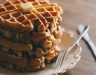 Brighten Your Morning With This Heavenly Waffle Puzzle