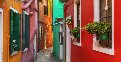 Travel Tuesday: Catch a Gondola on Your Way to Solve This Burano, Venice Puzzle