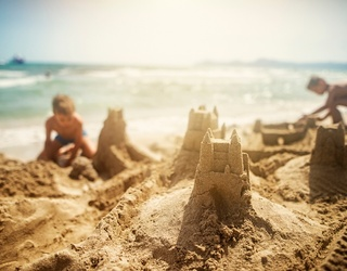 Don't Let the Tide Creep up While You Finish This Sandcastle Puzzle