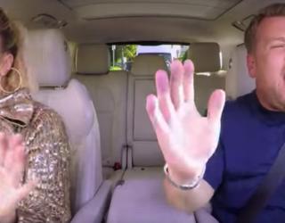 Lady Gaga Joins James Corden's Carpool Karaoke, Brings Her Pink Hat